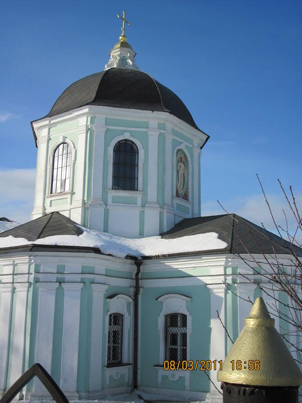 На фото Церковь в Царицыно