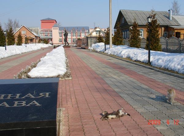 мемориал победы в Мышкине