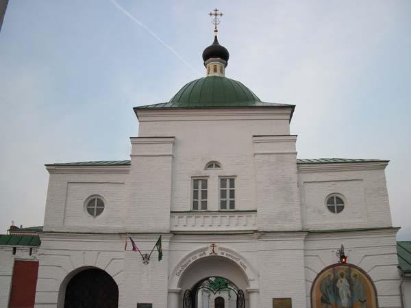 Спасо-преображенский монастырь в городе Муроме