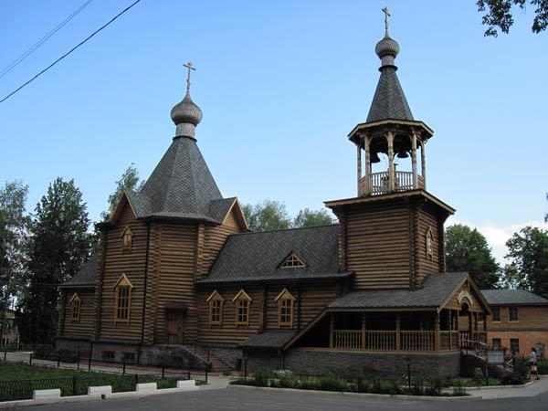 храм в Шарье