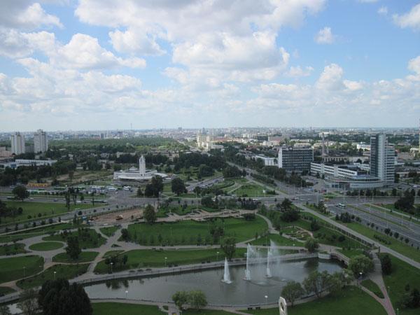 Фото города Минск