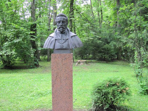 Памятник Радзивиллу в Несвиже