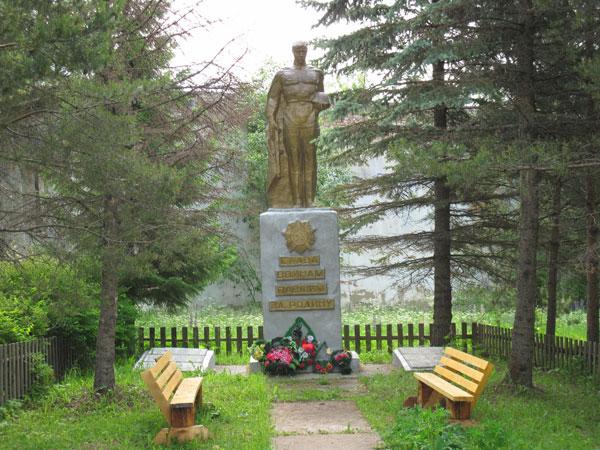 Памятник солдатам Великой Отечественной Войны в Спасском